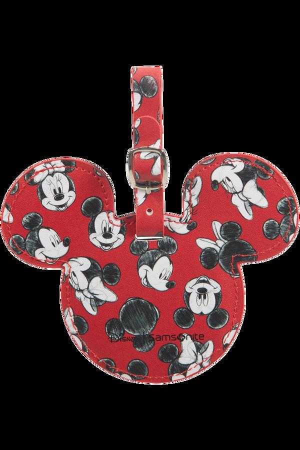 Samsonite Global Ta Disney ID Tag Disney  Mickey/Minnie Red