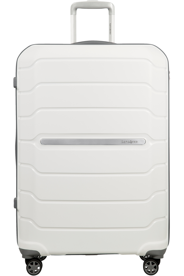 Samsonite Flux Spinner Extensible 75cm Blanc