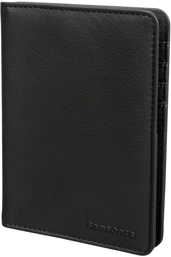 Samsonite Global Ta ID Leather Passport Cover  Noir