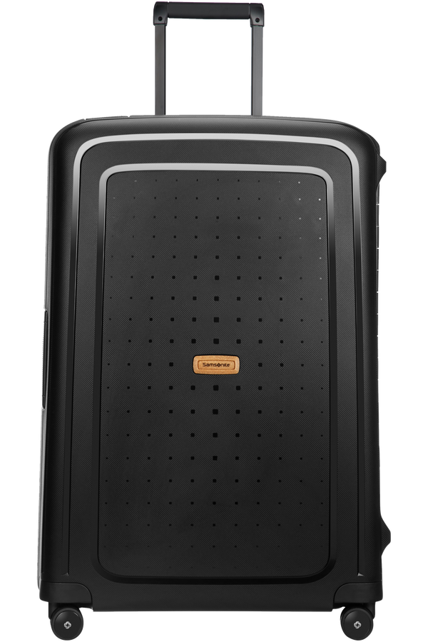 Samsonite S'cure Eco Spinner 75cm  Eco Black