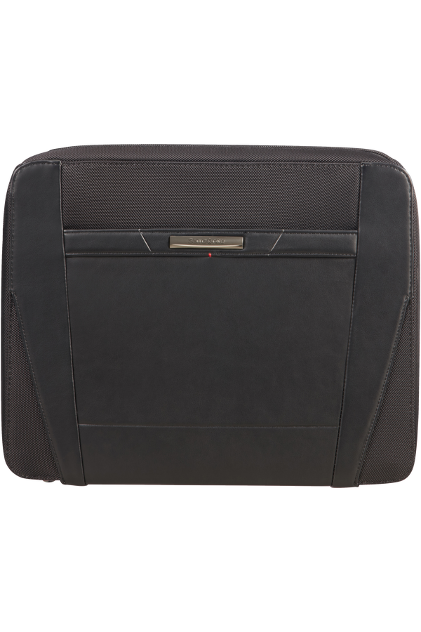 Samsonite Stationery Pro-Dlx 5 Zip Folder A4 Det B  Noir
