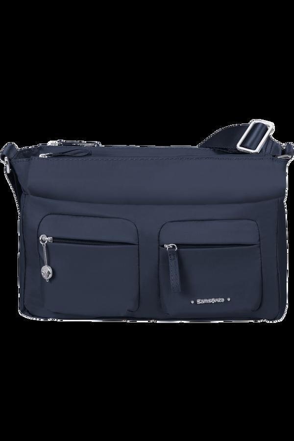 Samsonite Move 3.0 Horiz Shoulder Bag + Flap  Bleu foncé