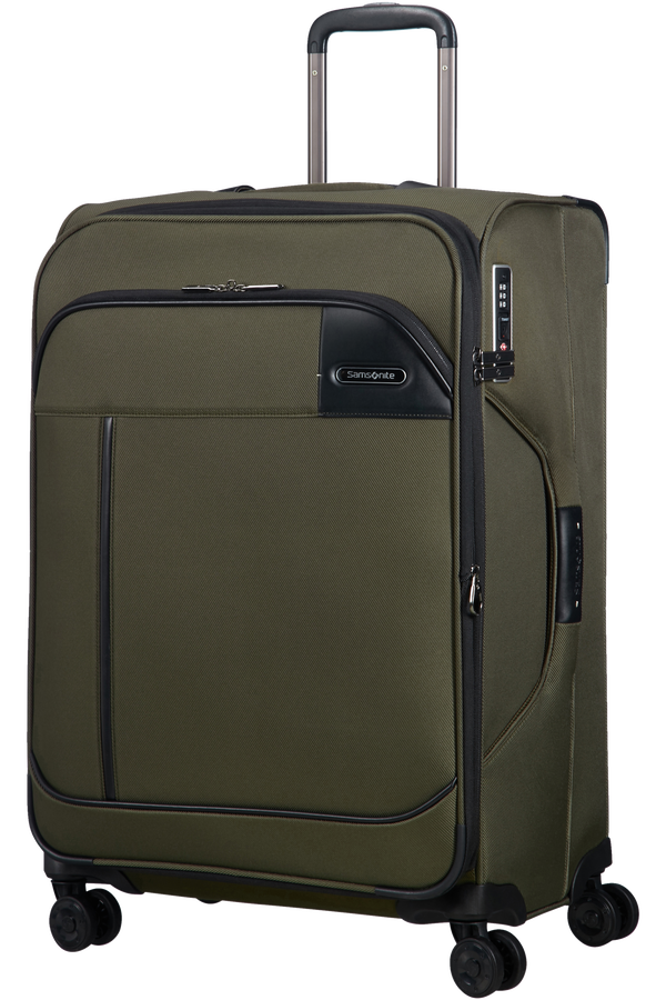 Samsonite Novar Spinner Expandable 66cm  Kaki