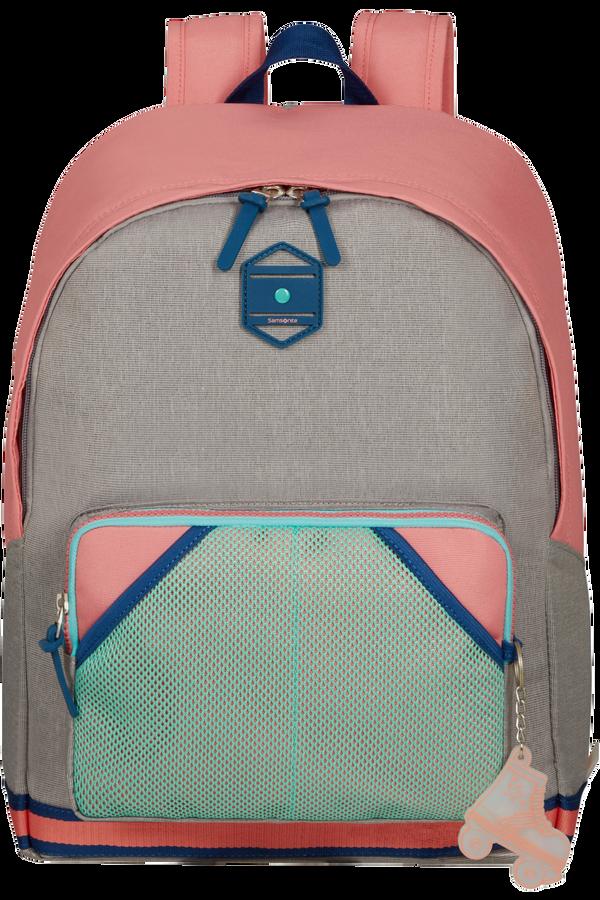 Samsonite Sam School Spirit Backpack L  Bubble Gum Pink