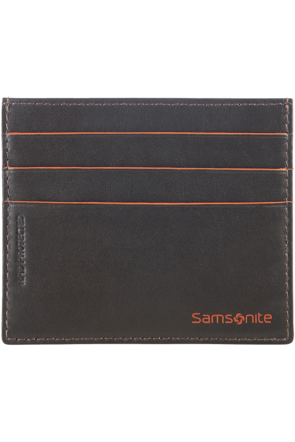 Samsonite Card Holder 6cc holder  Brun/Orange
