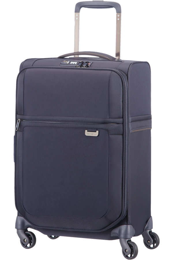 Samsonite Uplite Spinner extensible 55cm Bleu
