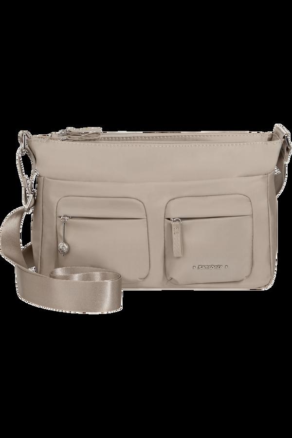 Samsonite Move 3.0 Horizontal Shoulder Bag+Flap  Gris clair
