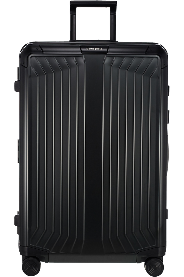 Samsonite Lite-Box Alu Spinner 76cm  Noir