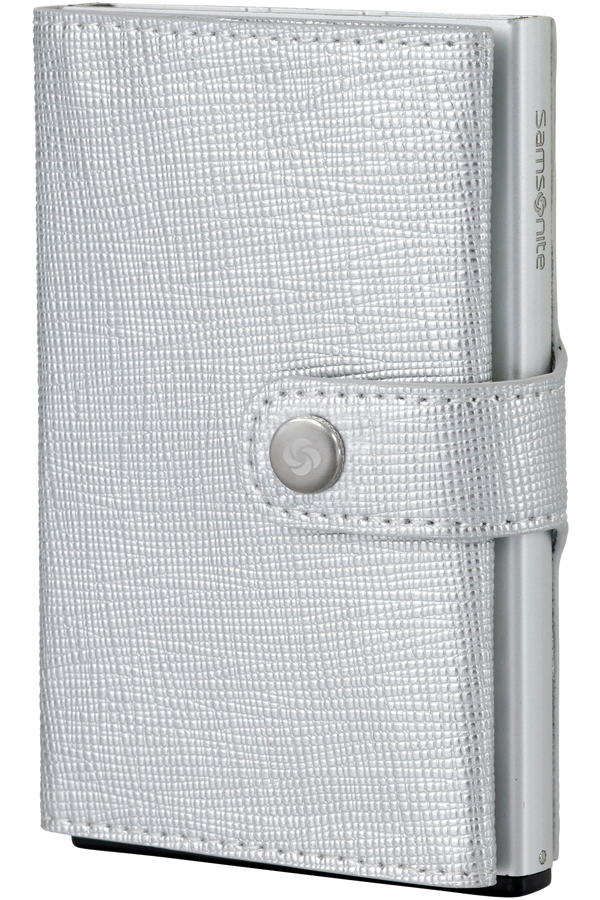 Samsonite Alu Fit 202 - Slide-up Wallet  Argent