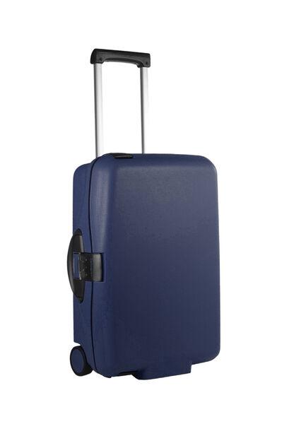 Cabin Collection Upright (2 roulettes) 55cm Bleu foncé