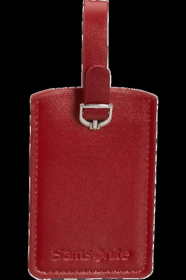 Samsonite Global Ta Rectangle Luggage Tag x2 Rouge