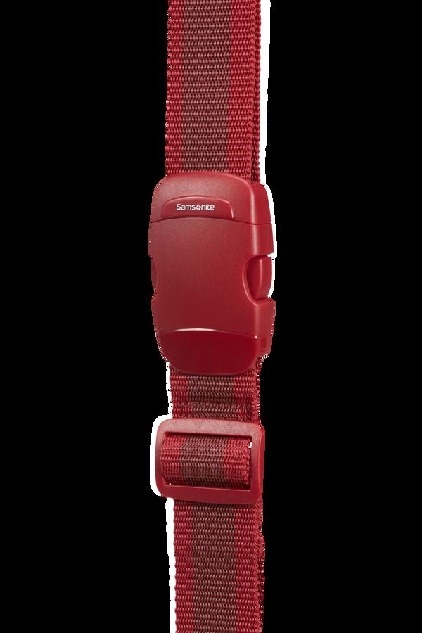 Samsonite Global Ta Luggage Strap 38mm Rouge