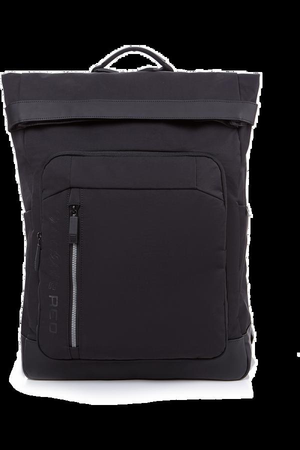 Samsonite Ruon Flap Backpack  Noir