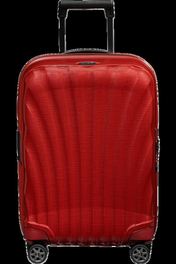 Samsonite C-Lite Spinner Expandable 55cm  Rouge piment