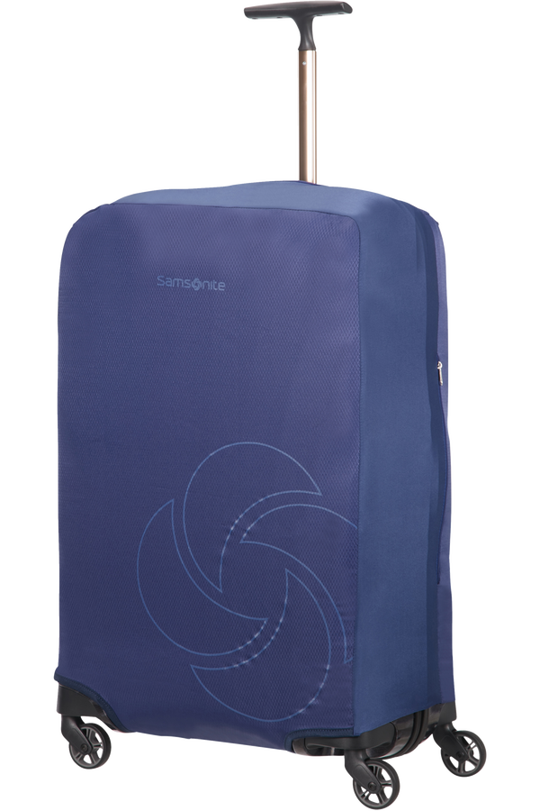 Samsonite Global Ta Foldable Luggage Cover M/L Bleu nuit