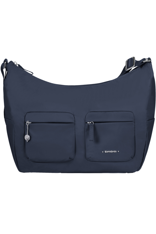 Samsonite Move 3.0 Should. Bag 2 Pock. M+  Bleu foncé