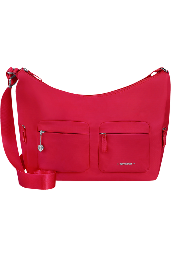Samsonite Move 3.0 Shoulder Bag + 2 Pockets M  Rouge cerise