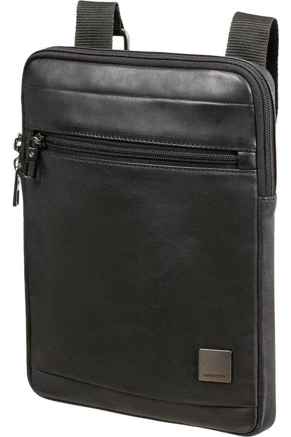 Samsonite Hip-Square Lth Flat Tabl.Cr.Over L  9.7inch Noir