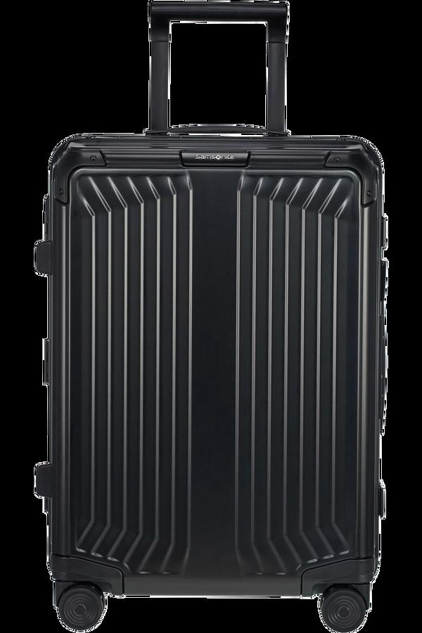 Samsonite Lite-Box Alu Spinner 55cm  Noir