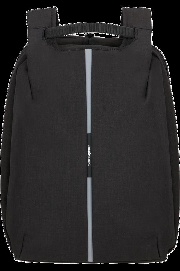 Samsonite Securipak Travel Backpack Expandable 15.6'  Black Steel