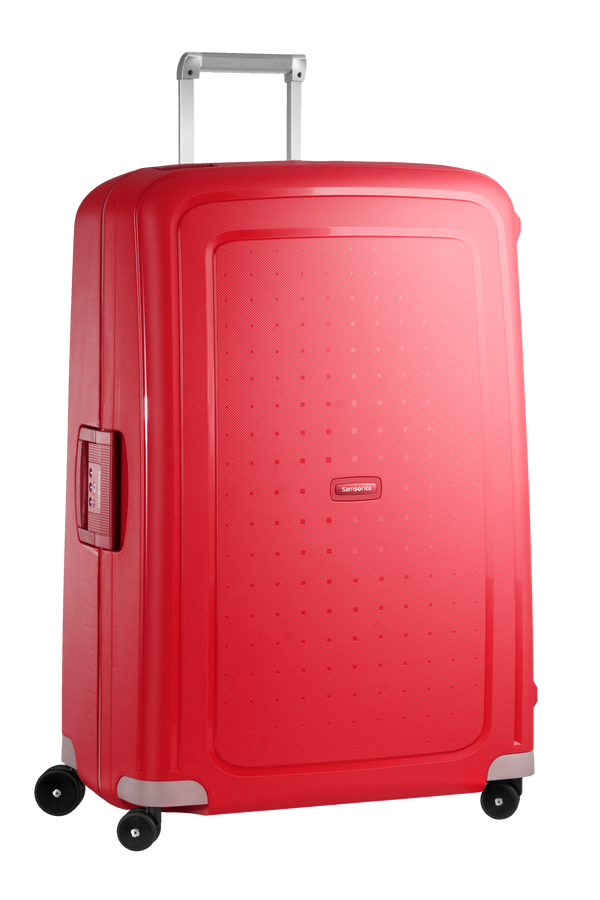 Samsonite S'Cure Spinner 81cm Crimson Red