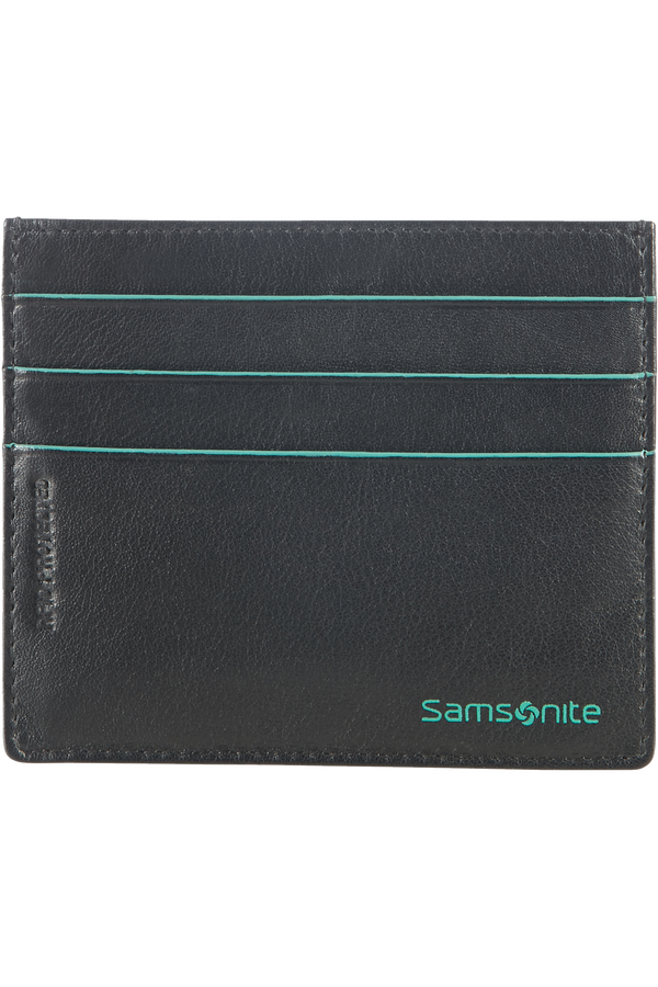 Samsonite Card Holder 6cc holder  Noir/Bleu clair