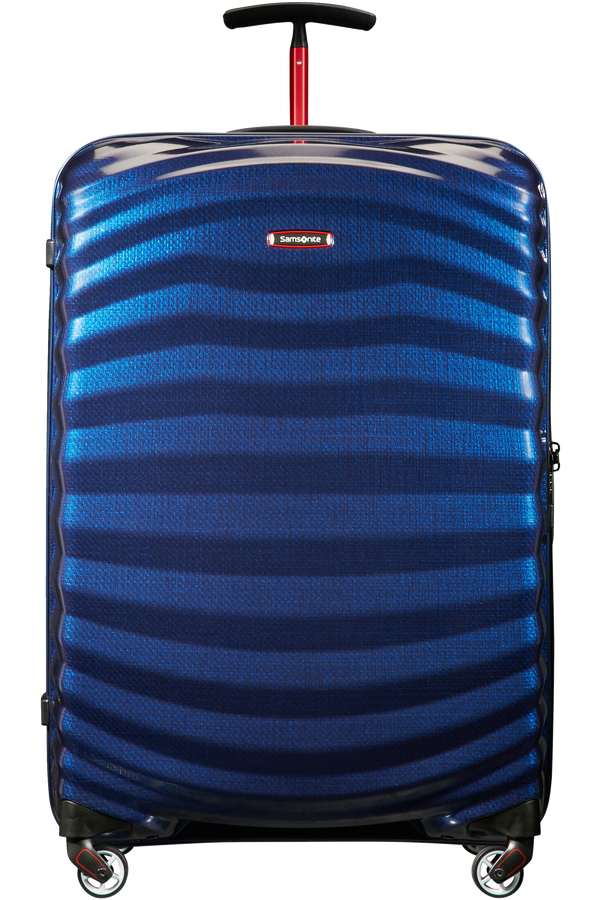 Samsonite Lite-Shock Sport Spinner 75cm  Nautical Blue/Red