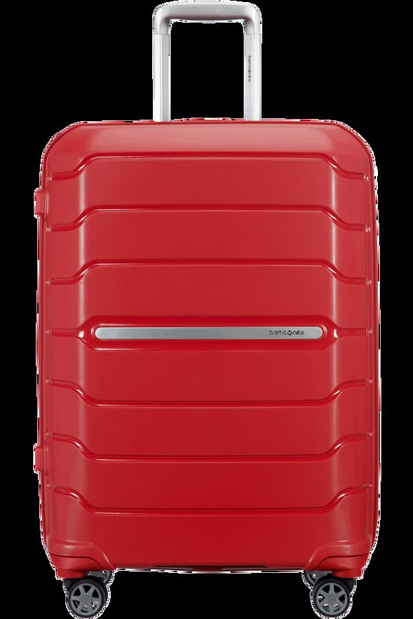 Samsonite Flux Spinner Expandable 68cm  Rouge