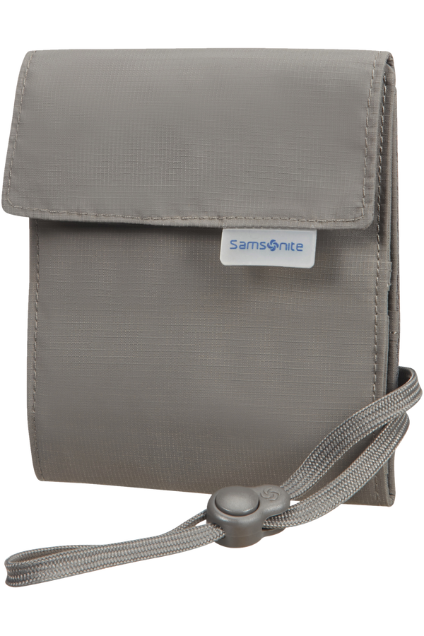 Samsonite Global Ta Multi-Pocket Neck Pouch  Gris eclipse