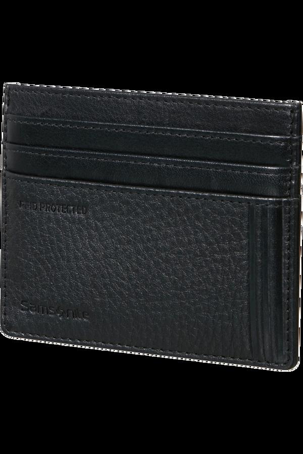 Samsonite Double Leather Slg 732 - 6CC H S  Noir