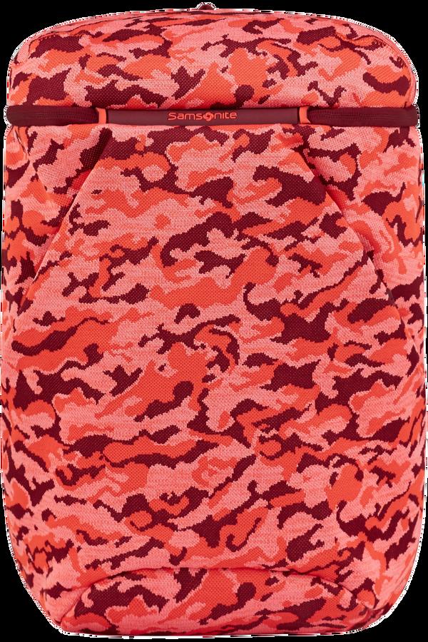 Samsonite Neoknit Laptop Backpack M  Fluo Red Camo