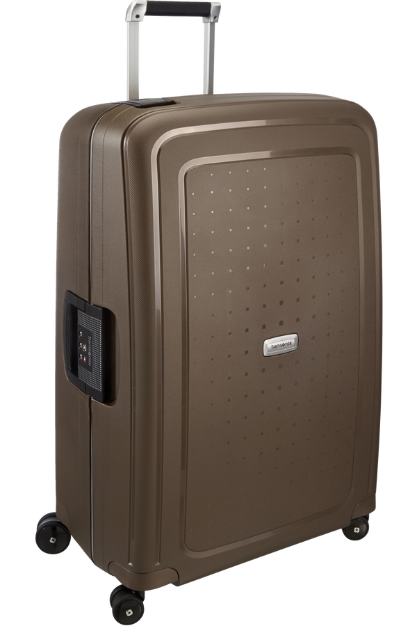 Samsonite S'Cure DLX Spinner 75cm Bronze métallique