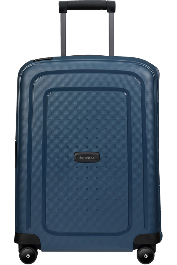 Samsonite S'cure Eco Spinner Post Consumer 55cm  Bleu marine