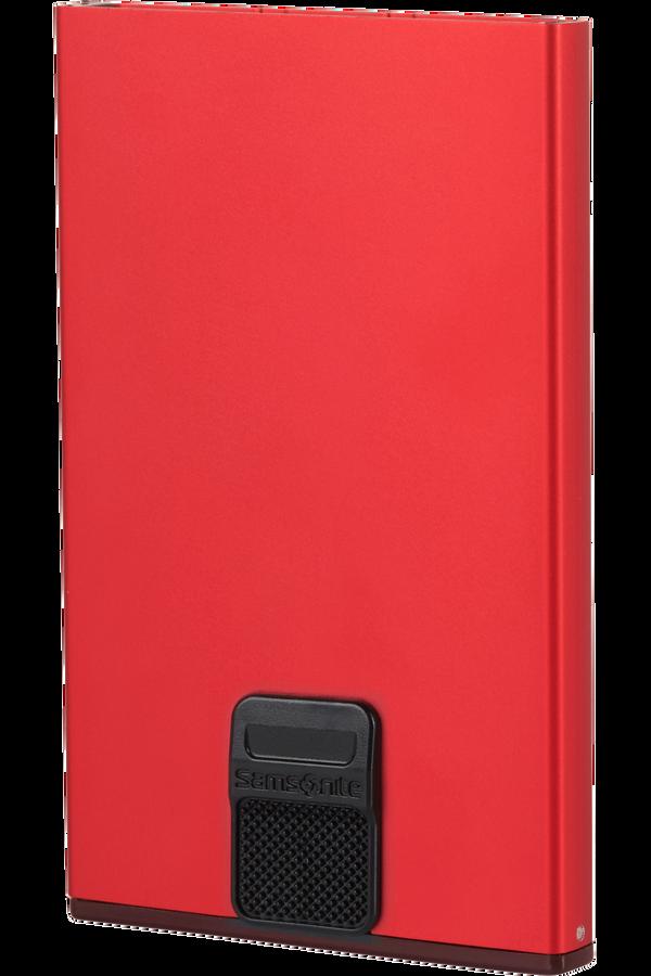 Samsonite Alu Fit 201 - Slide-up Case  Rouge