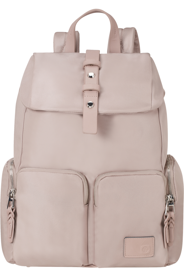 Samsonite Yourban Laptop Backpack + Flap  14.1inch Rose