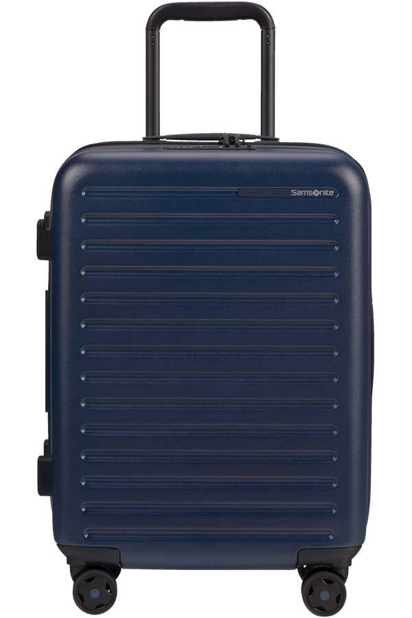 Samsonite Stackd Spinner Expandable 55cm  Bleu Marine