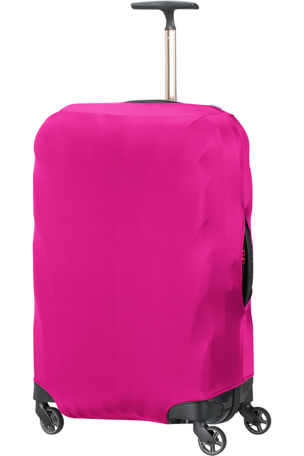Samsonite Global Ta Lycra Luggage Cover M  Deep Pink