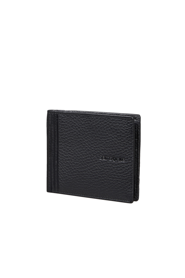 Samsonite Double Leather Slg 001 - B S 6CC+2C  Noir