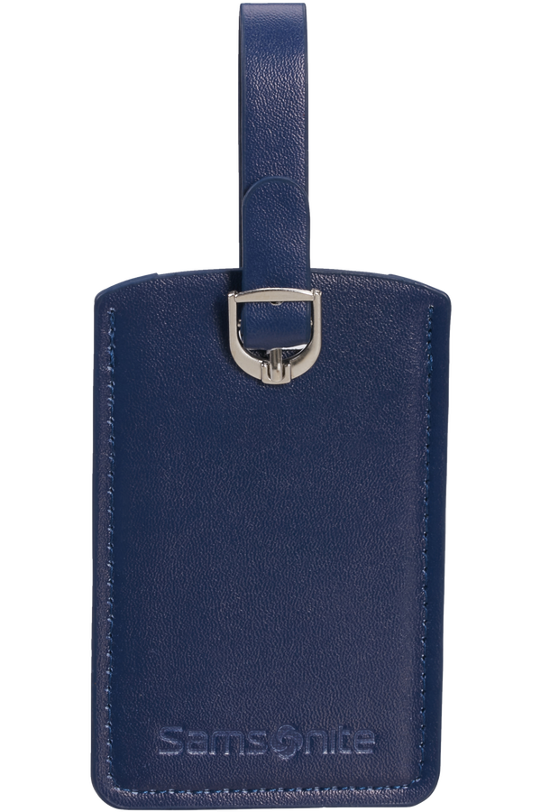 Samsonite Global Ta Rectangle Luggage Tag x2 Bleu nuit