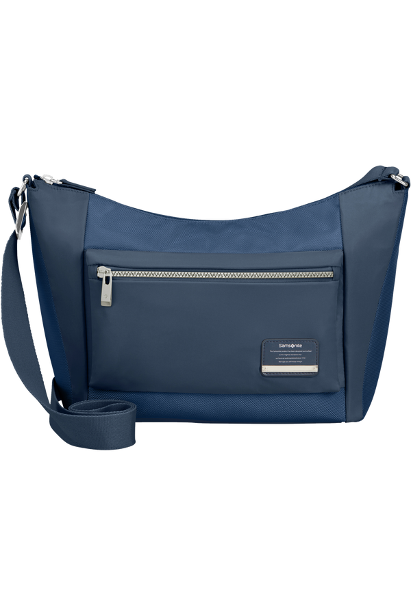 Samsonite Openroad Chic Shoulder Bag + 2 Pkts M  Bleu nuit
