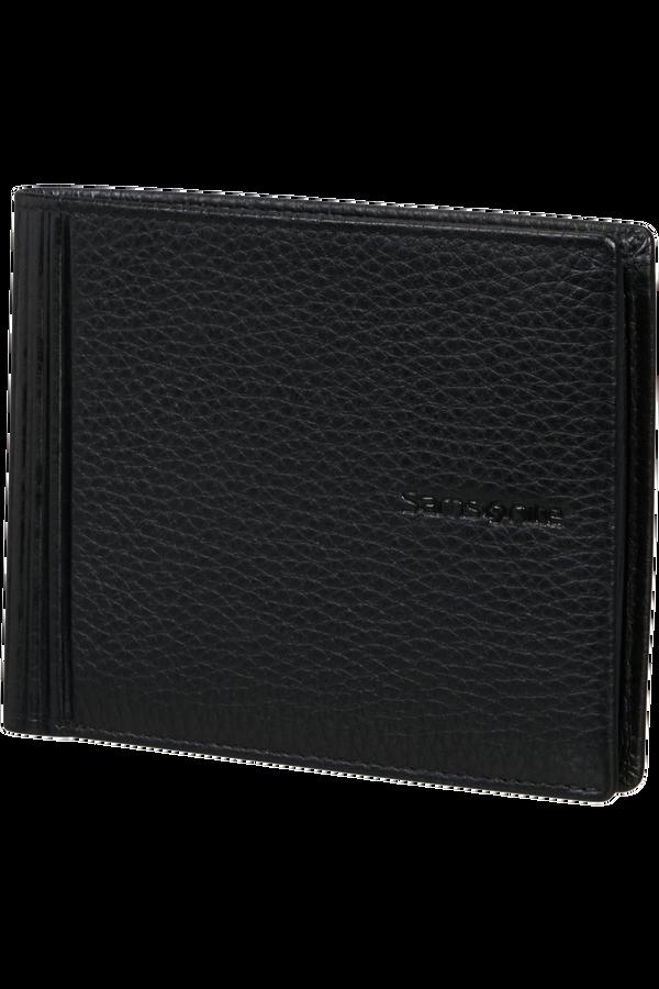 Samsonite Double Leather Slg 015 - B 4CC+2C+C  Noir