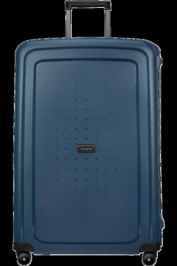 Samsonite S'cure Eco Spinner Post Consumer 81cm  Bleu marine