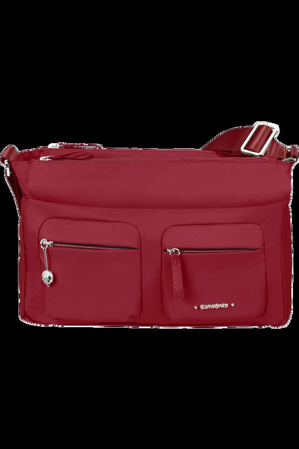 Samsonite Move 3.0 Horizontal Shoulder Bag + Flap  Rouge automne
