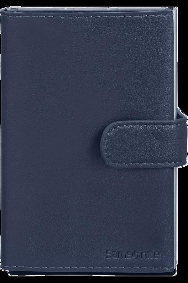 Samsonite Alu Fit 202 - Slide-up Wallet  Bleu