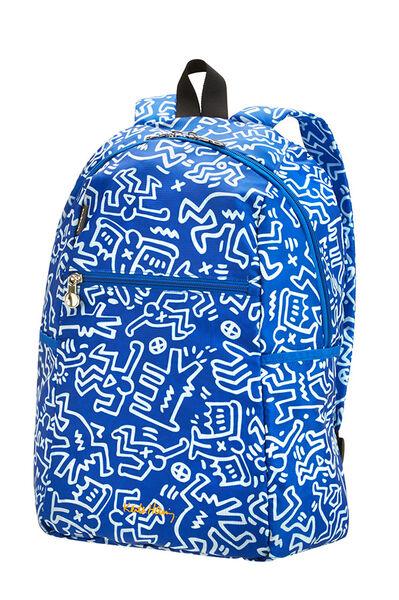 Travel Accessories Sac à dos Graffiti bleu