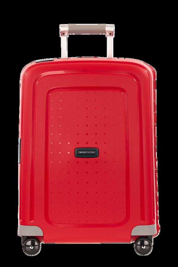 Samsonite S'Cure Spinner 55cm  Crimson Red/Black
