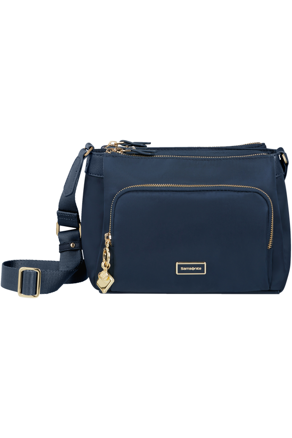 Samsonite Karissa 2.0 Travel Shoulder Bag  Bleu nuit