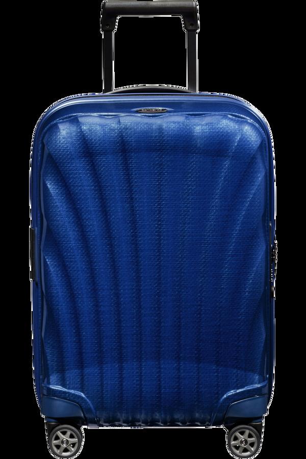 Samsonite C-Lite Spinner Expandable 55cm  Bleu profond