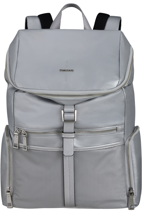 Samsonite Activ-Eight Top Open. Backpack 14.1'  Argent
