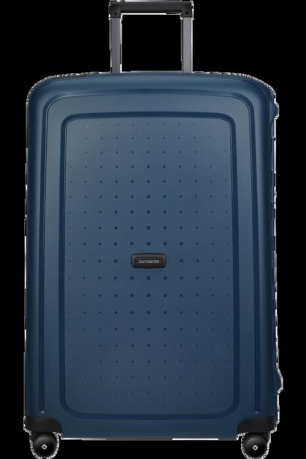 Samsonite S'cure Eco Spinner Post Consumer 75cm  Bleu marine